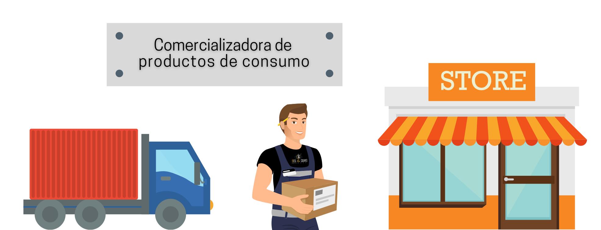Comercializadora de productos de consumo